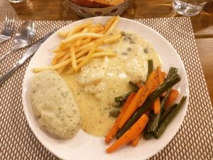Picture of Fish Steak in cafe fresska