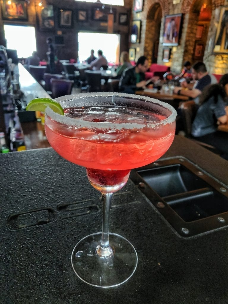 Picture of Cranberry & Lychee Margarita in HARD ROCK CAFE BANGALORE
