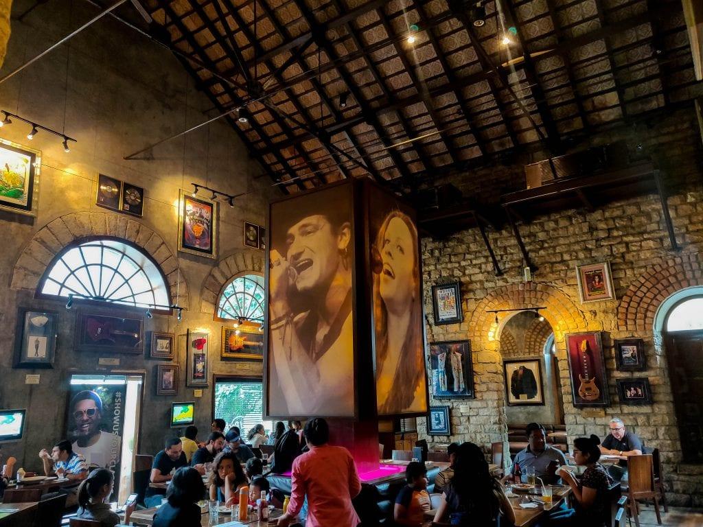 Hard rock cafe interiors