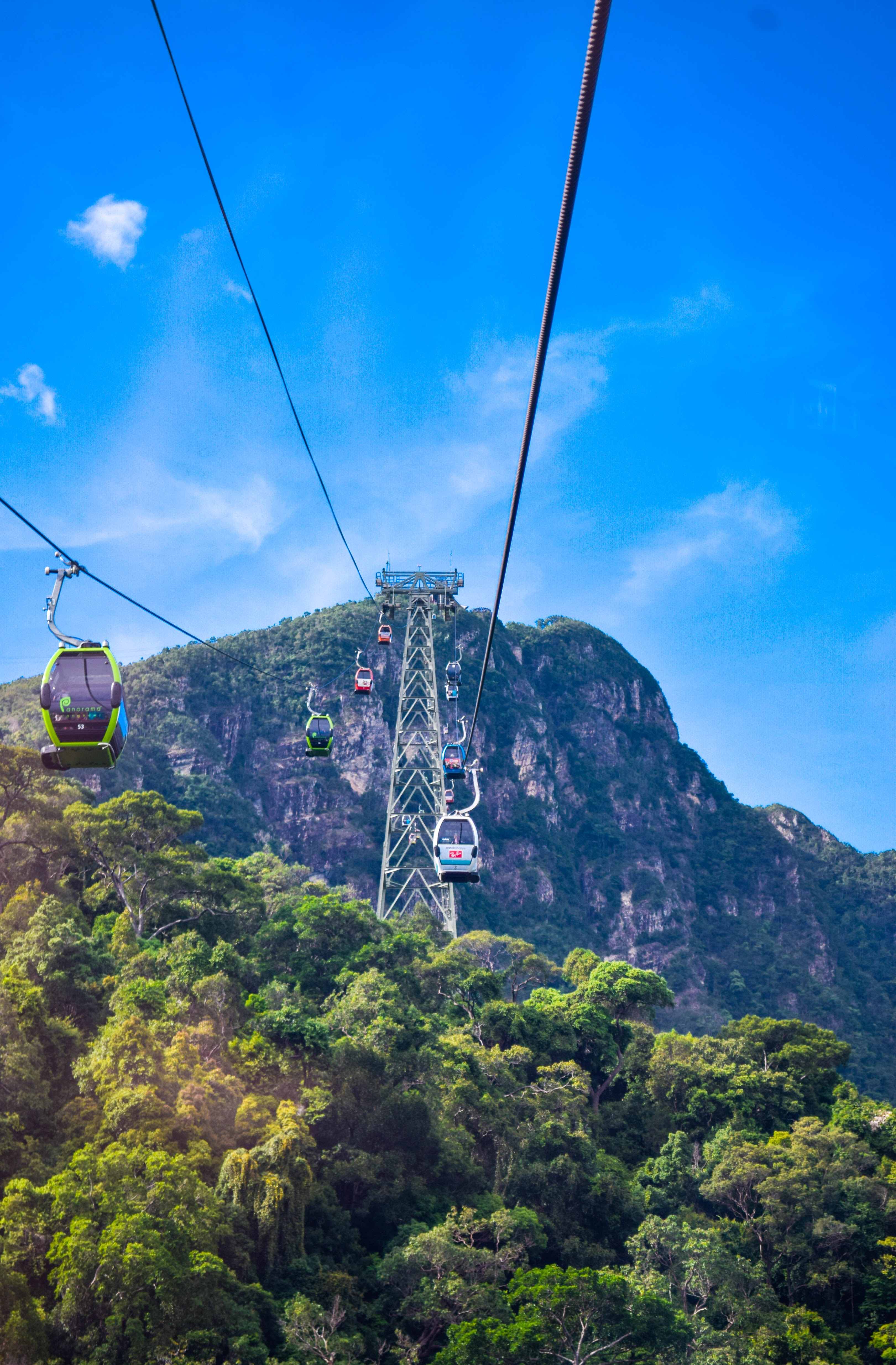 picture of langkawi sky brige & cable car