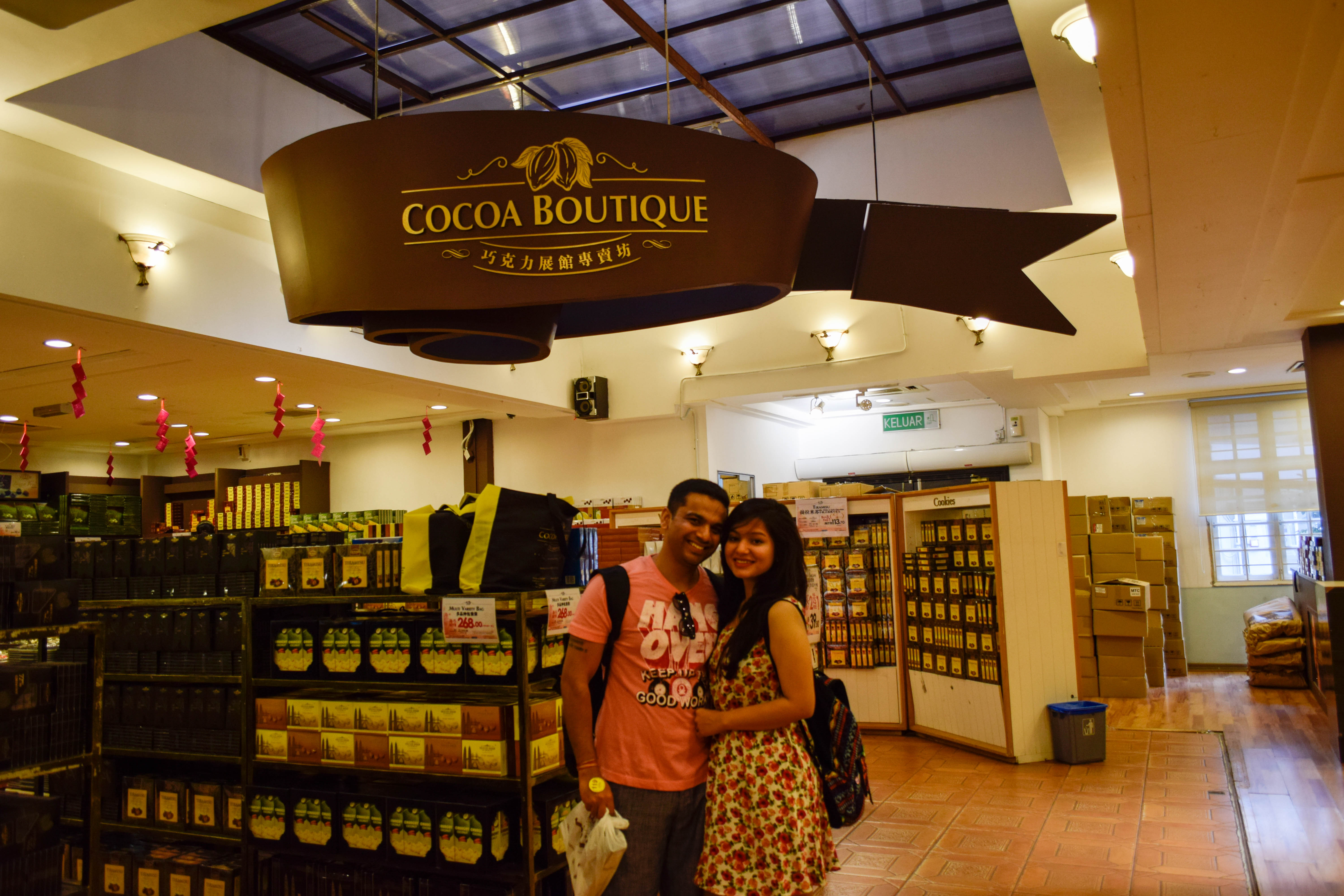 Chocolate factory in Malaysia