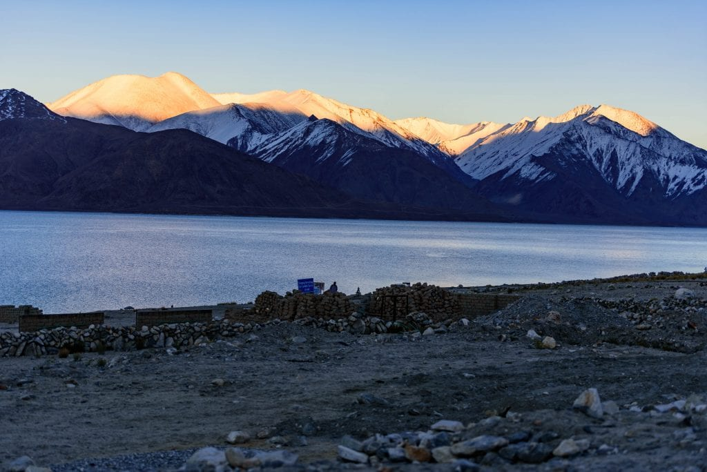 Picture of Pangong lake