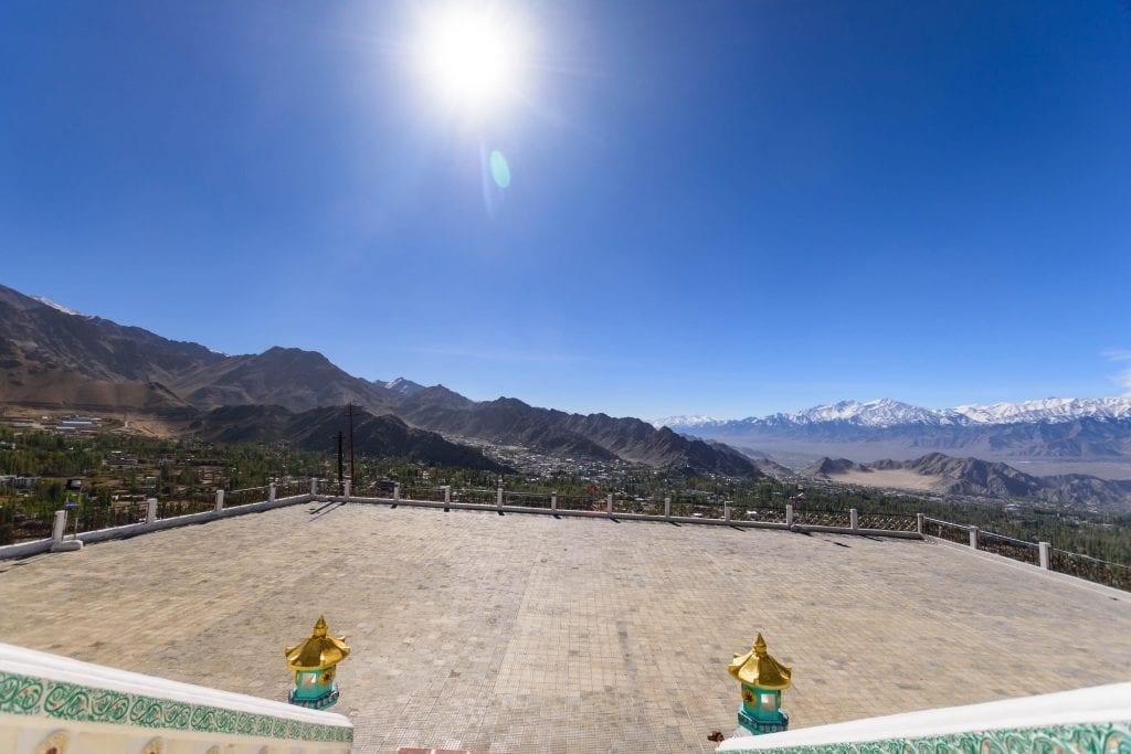 Picture of Shanti Stupa