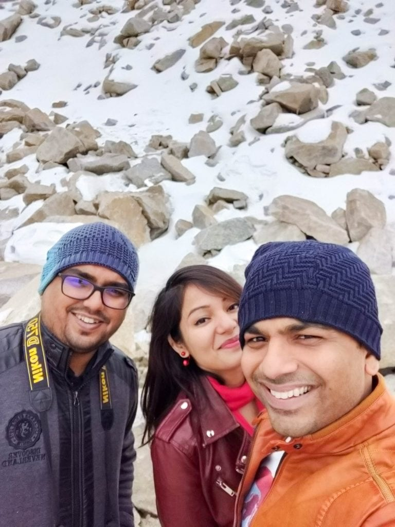 Pictures at Khardungla pass