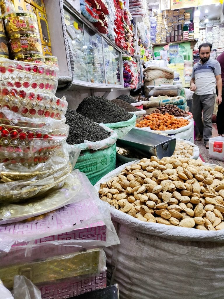 Dry fruits in kashmir