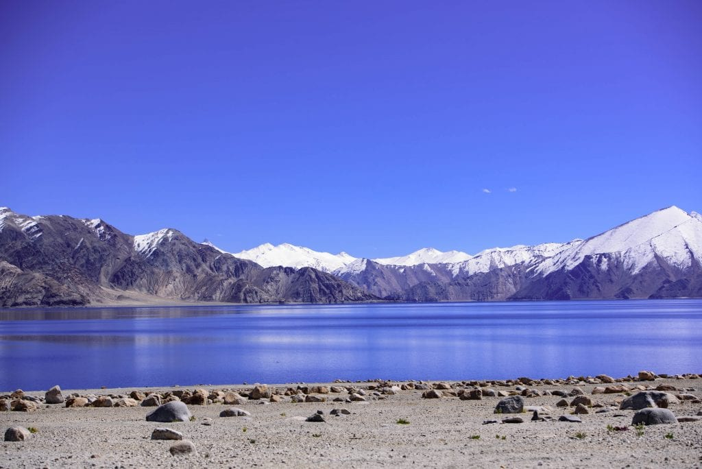 Pictures of Pangong Lake