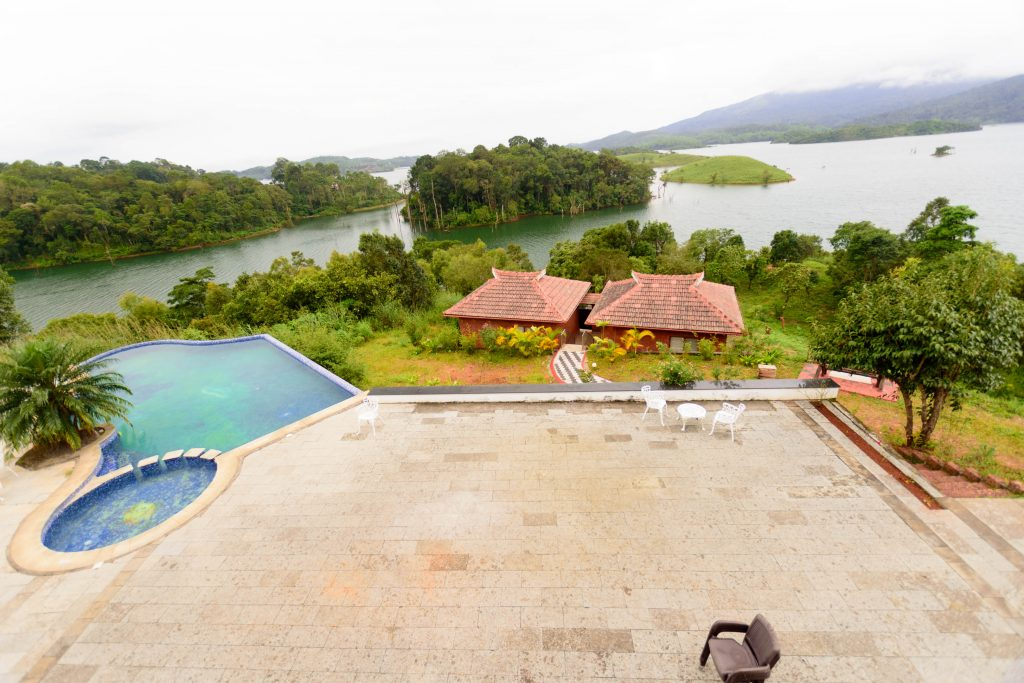 View from Lake view cottage in contour island resort & spa